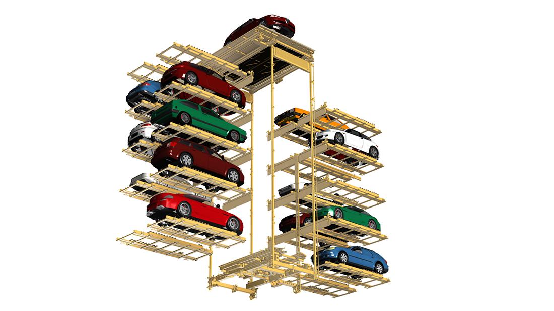 Under Ground Parking Structure